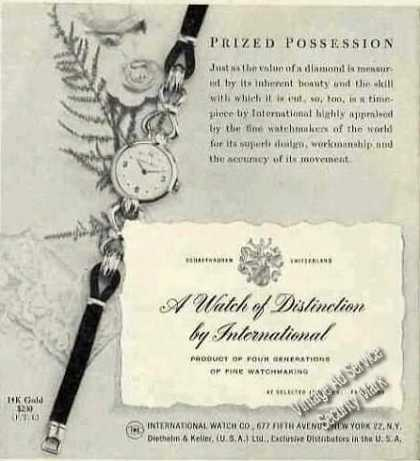 """A Watch of Distinction By International"" (1951)"