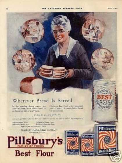 Pillsbury Flour Mills Company Color (1921)