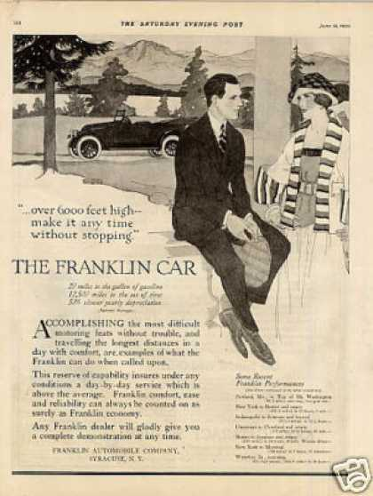 Franklin Car (1920)