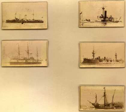 Kinney Bros.'s Sweet Caporal Cigarettes – Ships – Image 3