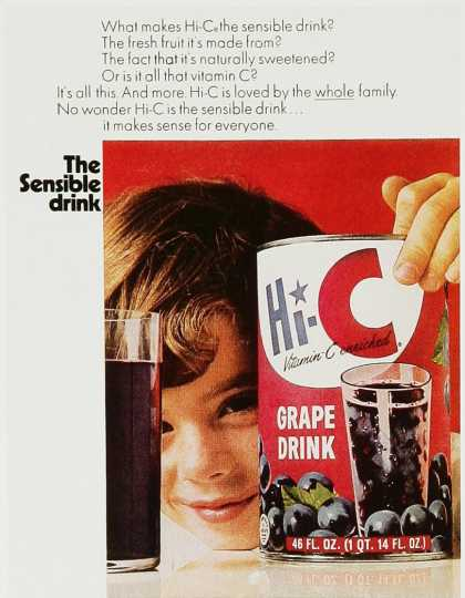 Hi-C Grape Drink