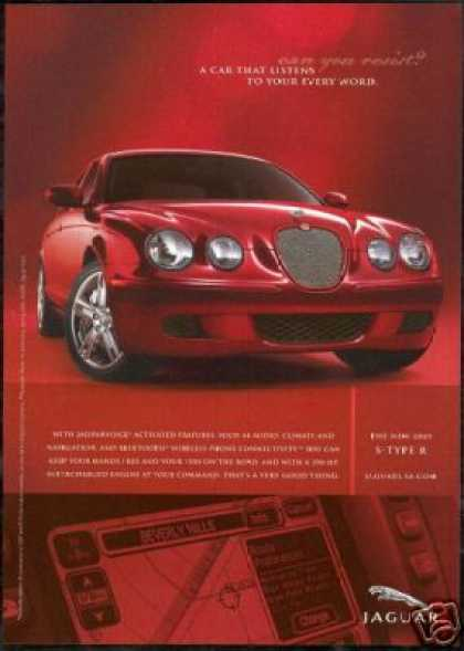 Red Jaguar S-Style R Performance Photo Car (2005)