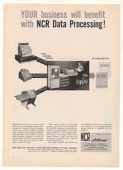 NCR Data Processing Computer System (1961)