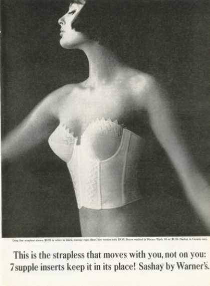 Warner's Strapless Bra Pretty Lady (1961)