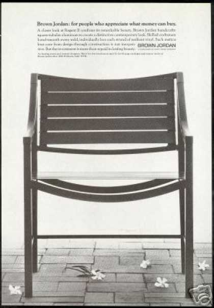 Brown Jordan Regent II Chair Furniture Photo (1974)