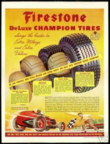 Firestone Tire Wilbur Shaw Indianapolis Race (1946)