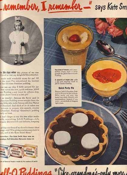 Jello's Jell-O Puddings (1945)