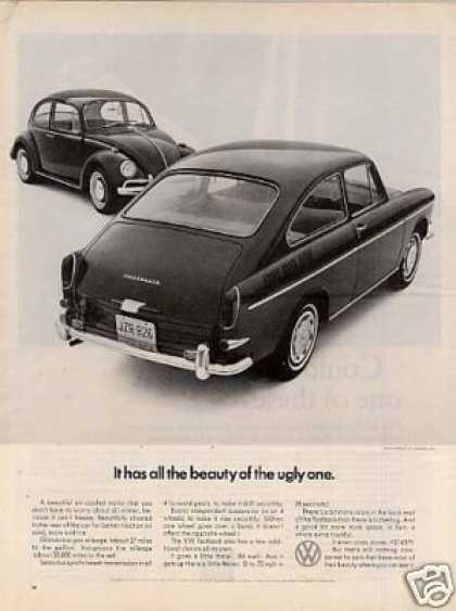 "Volkswagen Car Ad ""It Has All the Beauty... (1967)"