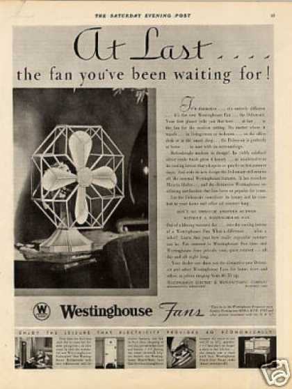 Westinghouse Fan (1931)