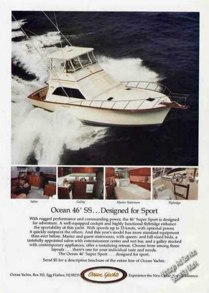 Ocean 46' Super Sport Photos Egg Harbor Nj (1985)