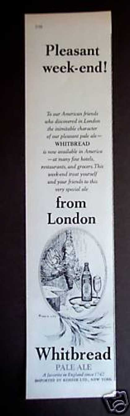 Whitbread Pale Ale From London (1962)