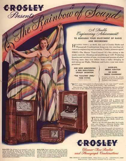 Crosley Corporation's Various – Crosley Presents the Rainbow of Sound (1941)