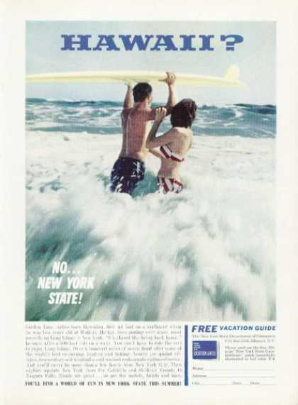 Hawaii Gordon Linn Surfboard Surfing (1961)