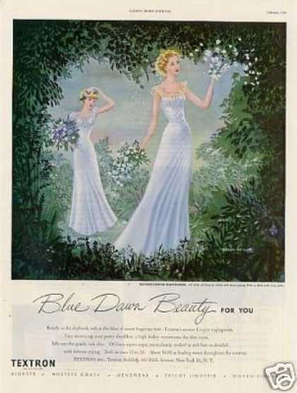 Textron Empire Nightgowns (1949)