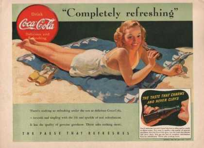 Completely Refreshing Coca Cola (1941)