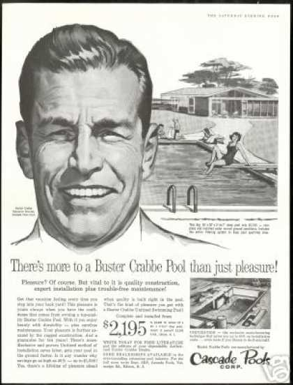 Buster Crabbe Cascade Swimming Pool Corp (1960)