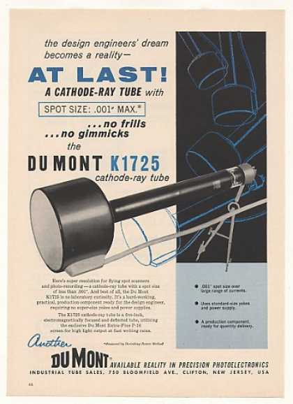 Du Mont K1725 Cathode-Ray Tube (1958)