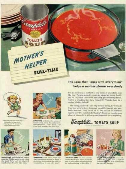 Campbell's Tomato Soup Collectible (1944)