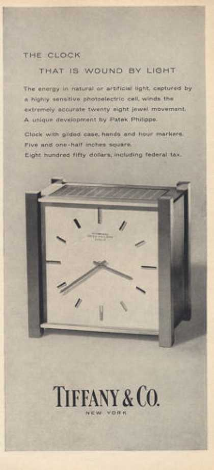 Tiffany & Co Patek Philippe Clock (1960)