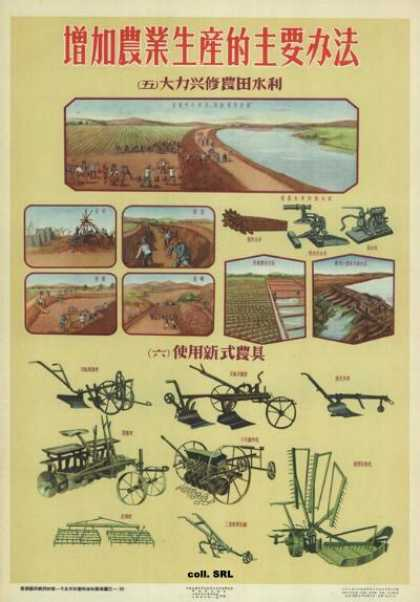 Important methods to increase agricultural production (1956)