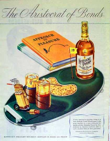 Kentucky Tavern Whisky – Golf's Approach to Pleasure (1947)