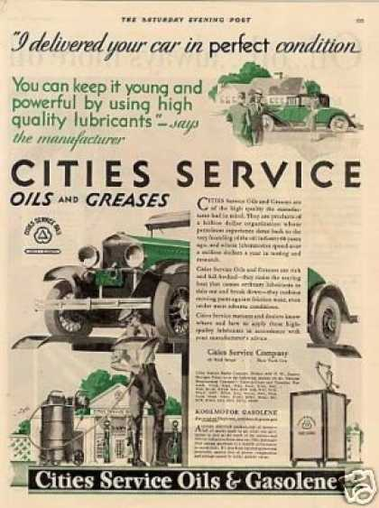 Cities Service Oil (1930)