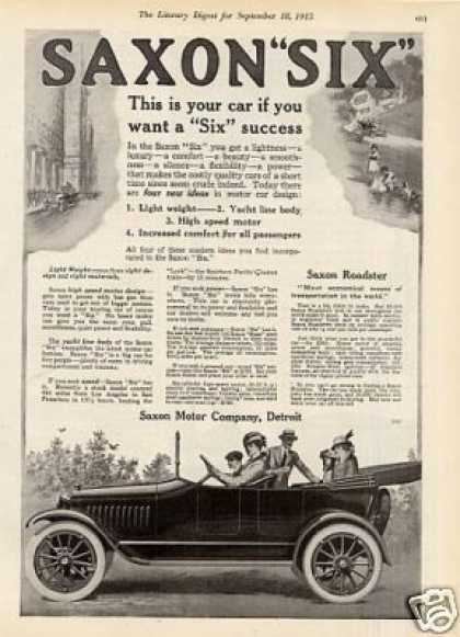 Saxon Six Car (1915)