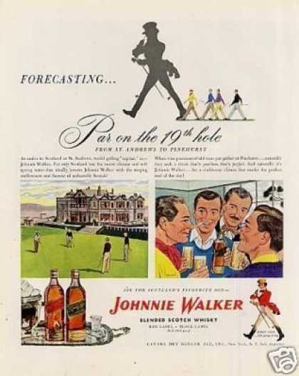 Johnnie Walker Scotch Whiskey (1947)
