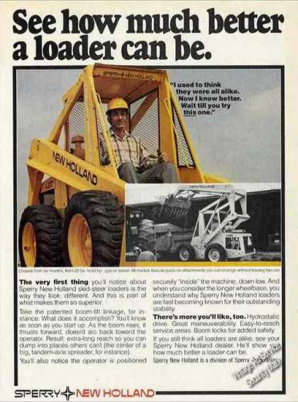 Hew Holland Skid-steer Loaders Nice Photos (1980)