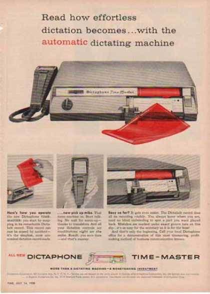 Dictaphone Time-Master – Technology History (1951)