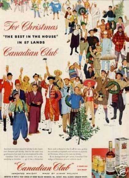 Canadian Club Whiskey (1953)