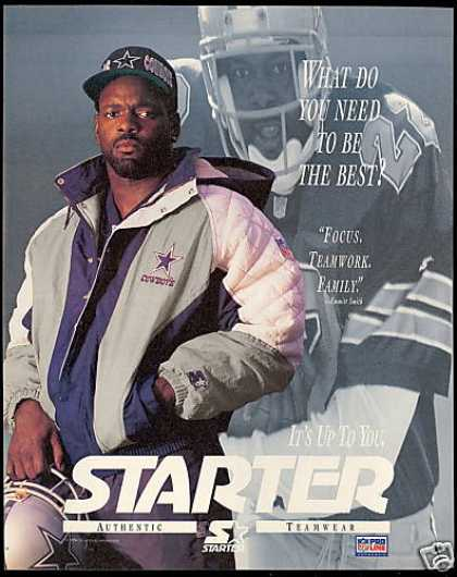 Emmitt Smith Football Dallas Cowboys Starter (1994)