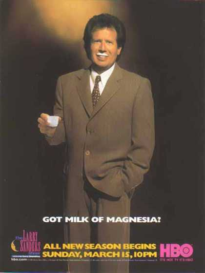 Garry Shandling &#8211; GOT MILK Of Magnesia? (1998)