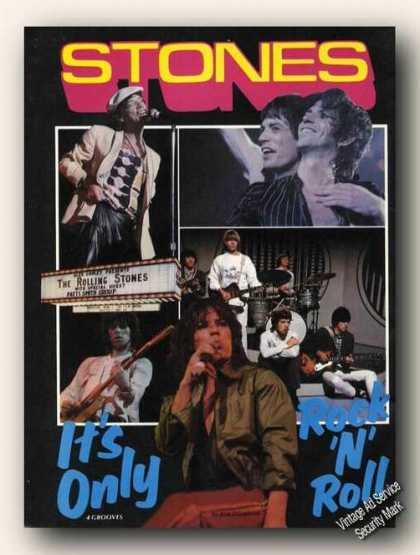 Stones Photos Its Only Rock 'n' Roll Print Feature (1978)