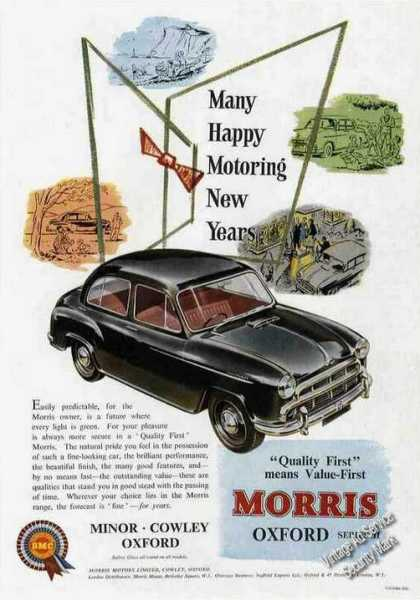 Morris Oxford Series Ii Collectible Car (1955)