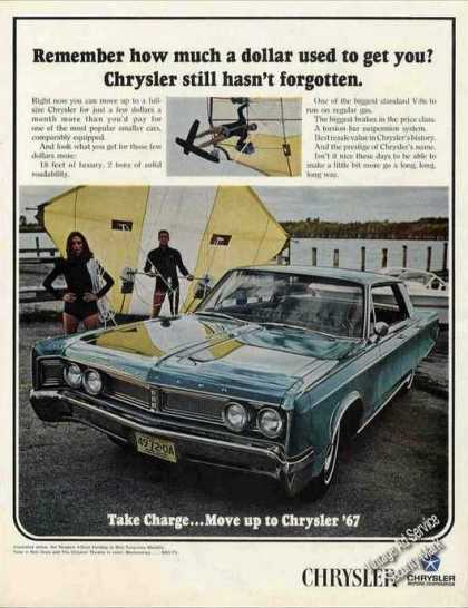 Chrysler Hang Glider In Background Car (1967)