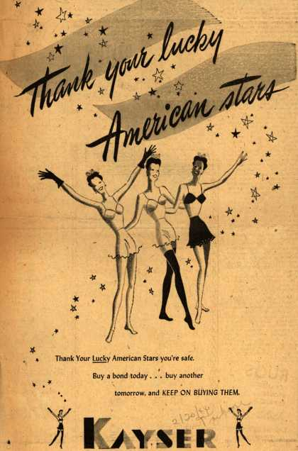 Kayser's War Bonds – Thank Your Lucky American Stars (1944)