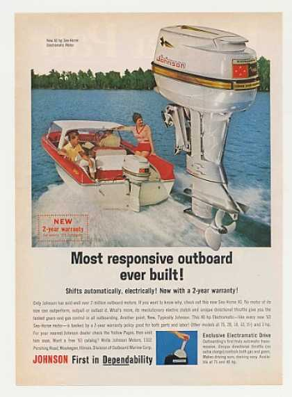 Johnson Sea Horse Electramatic Outboard Motor (1963)
