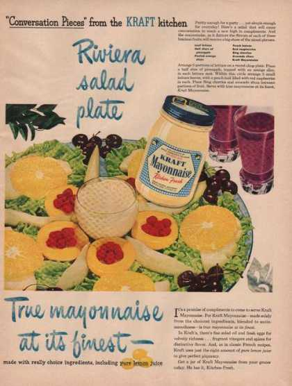 Kraft Mayonnaise at It's Finest (1949)