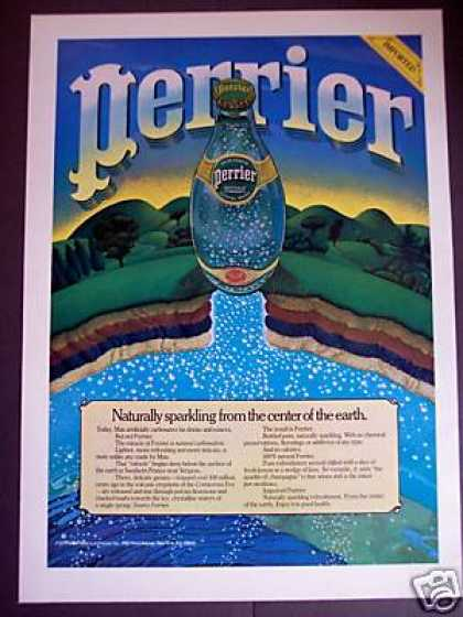 Perrier Sparkling Water Center of the Earth Art (1979)