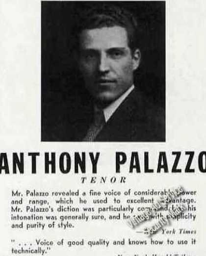 Anthony Palazzo Photo Tenor Trade (1946)