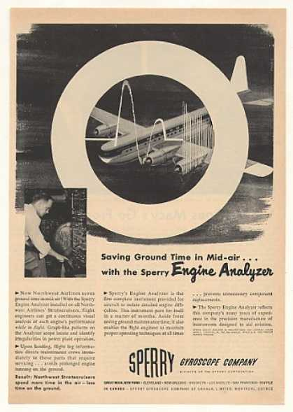 '52 Northwest Airlines Stratocruiser Sperry Analyzer (1952)