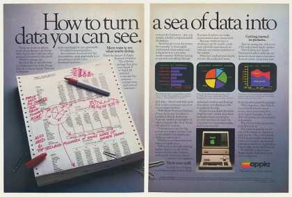 Apple III Computer Business Graphics (1983)