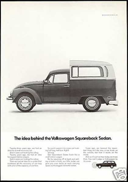 VW Volkswagen Bug Bus Squareback Sedan Car (1971)