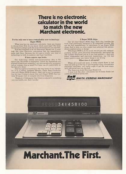 SCM Marchant Cogito 414 Electronic Calculator (1970)