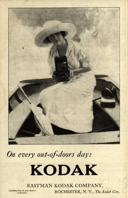 Kodak – On every out-of-doors day: Kodak (1912)