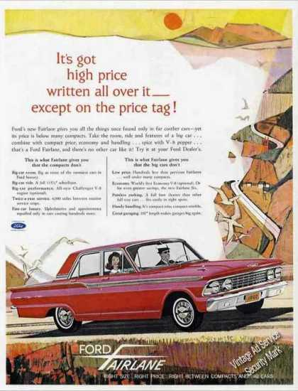 Ford Fairline Art Collectible Car (1962)
