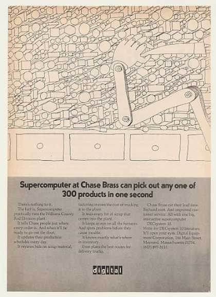 Chase Brass Digital DECsystem 10 Supercomputer (1971)