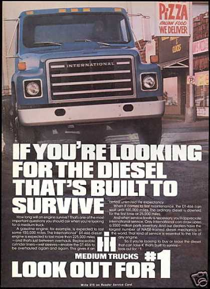 International IHC Medium Truck Diesel Engine (1981)