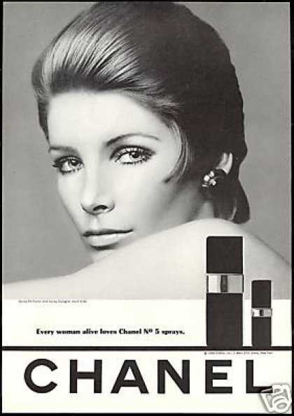 Pretty Woman Chanel No 5 Perfume Spray (1968)